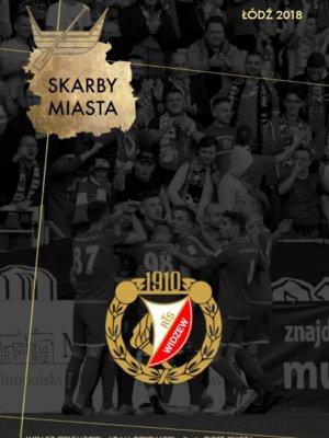 Skarby Miasta Łódź WIdzew okładka kluby piłkarskie