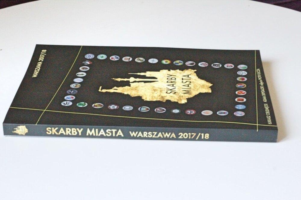 skarby miasta warszawa książka o klubach piłkarskich