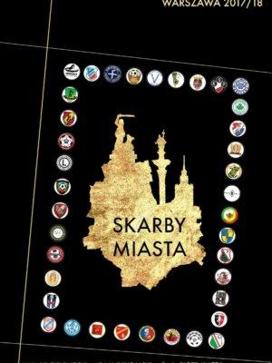 Skarby Miasta okładka kluby piłkarskie Warszawa